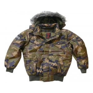 BUNDA NYLON WOODLAND - CAMO