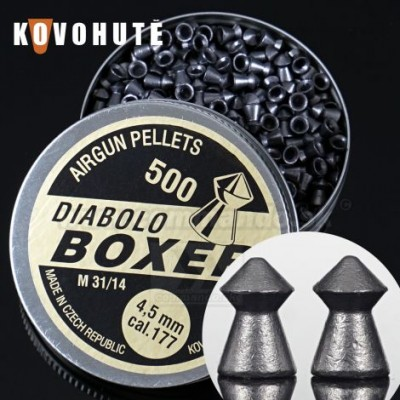 Diabolo BOXER 500ks, kal. 4,5mm