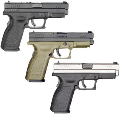 "HS Products mod. HS-9, kal.: 9x19mm, 4"", Steinless Steel"