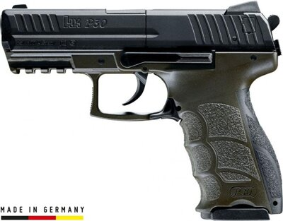 Pištoľ CO2 Heckler & Koch P30 ODG, kal. 4,5mm diab./BB