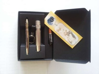 Mag-Lite SOLITAIRE plus pero FISHER Space Pen