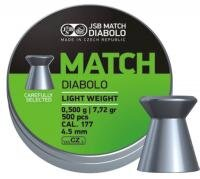 Diabolo Match Light weight 4,52mm 500ks