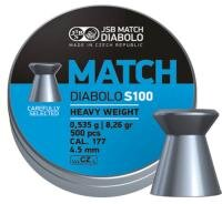 Diabolo Match S100 4,50mm 500ks