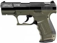 Pištoľ CO2 Walther CP99 Military, kal. 4,5mm diabolo