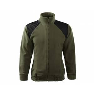 "Mikina fleece unisex ""HI-Q"" - military"