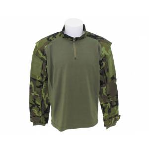 Košela US Tactical so suchým zipsom MFH 02611J - CZ camo