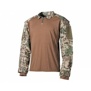 Košela US Tactical so suchým zipsom MFH 02611X - multicam