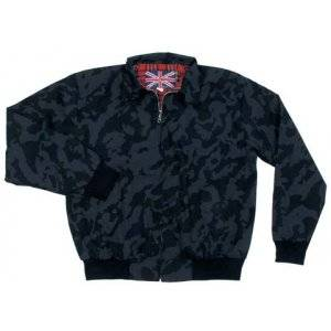 Bunda tenká MFH Harrington - night camo