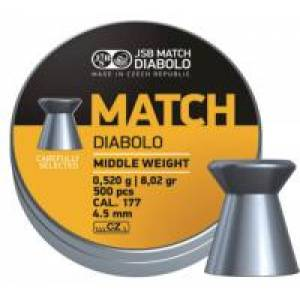 Diabolo Match Middle weight 4,51mm 500ks