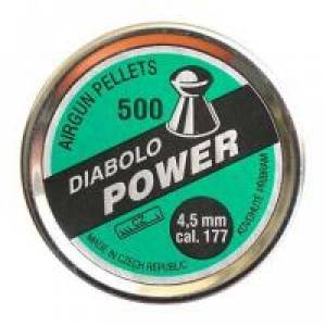 Diabolo POWER 500ks, kal. 4,5mm