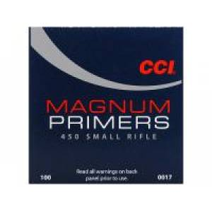 Zápalky CCI 450 Magnum Small Rifle Primers